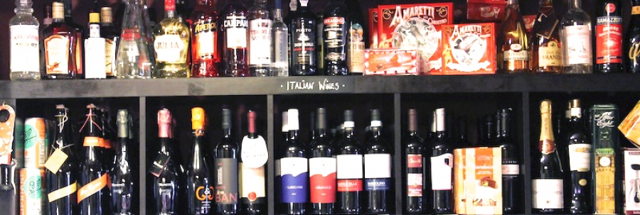Our selection of Italian wines